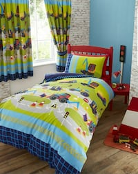 Kids Comforter Cover, Case & Curtain Set Rowland Heights, 91748