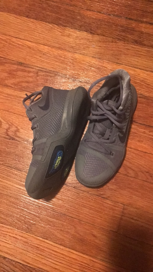 b7bcd08dcfbb Used Nike Kyrie boys basketball sneakers for sale in Cliffside Park ...