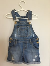 Girls jeans overalls and jacket 2-3 yrs  Brampton, L7A 2C6