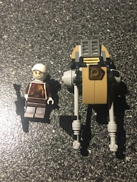 Dengar lego mini figure  with Speeder from lego 75145 Eclipse Fighter  New York, 11354