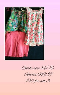 women's pink and green floral dress Bloomington, 92316