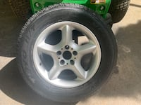 BMW wheel and toyo tire