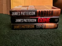 James Patterson Hardcover books