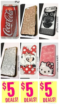 Iphone 6/6S Cases $5 each