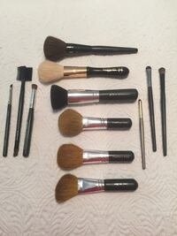 Professional makeup brushes with case Virginia Beach, 23455