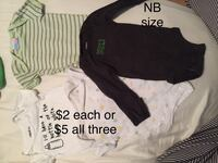 Baby boy outfits 0-3 months Markham, L3T 1Z1