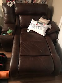 Ashley brown leather sectional (NEGOTIABLE) Freehold, 07728