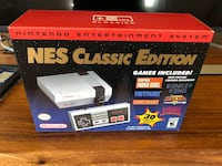 NES Classic Edition game console box Surrey, V4N 4W3