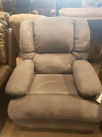 Blue fabric recliner  Peterborough, K9J 5Y3