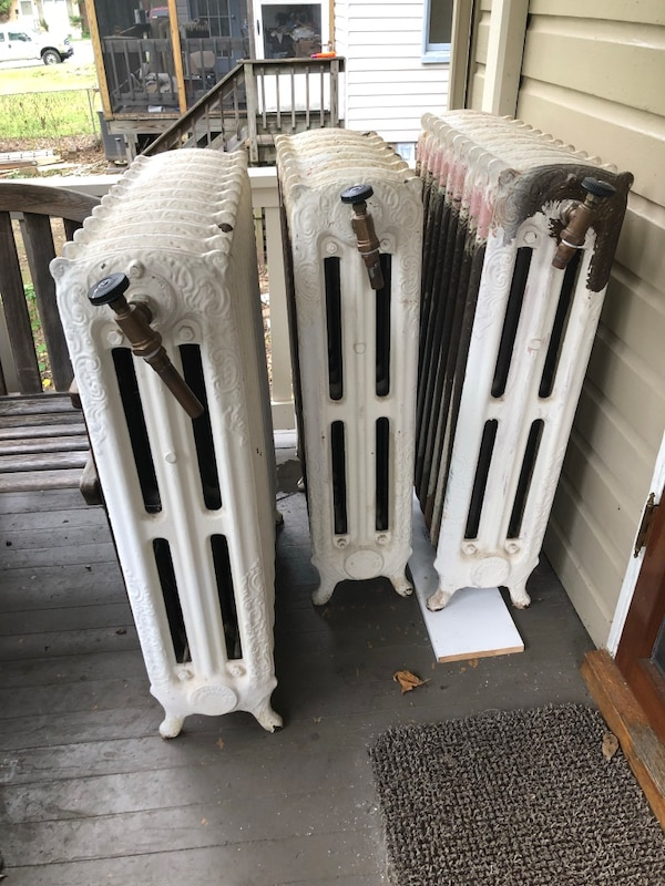 7 Antique Radiators