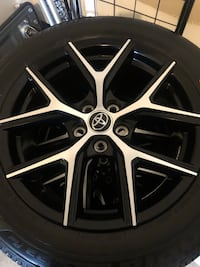 2018 Rav4 SE rims & tires (excellent)  Mississauga, L4W