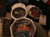 3 Star Trek collector plates W/authenticity Orlando, 32833