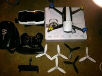 Bebop2 quadcopter drone with remote and fpv goggel Sanford, 32773