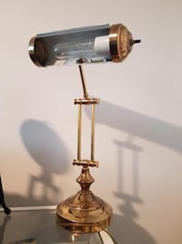 Vintage luxe study lamp