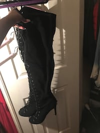 Size 8.5 Over the knee Public Desire Boots  Pickering, L1V 0C1