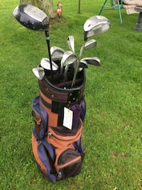 Men's right handed clubs and bag - New Price Delhi