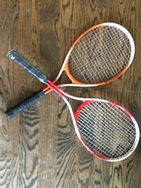 Tennis Racquets-  2 for $20- one is brand new Toronto, M6R 1Z8