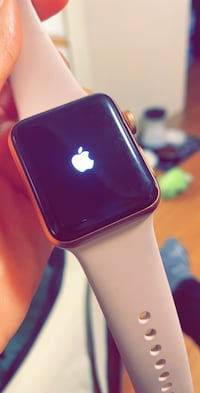 Pink sand Apple watch S3