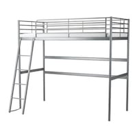 black metal bunk bed frame Draper, 84020