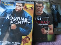 The Jason Bourne Trilogy (DVD) TORONTO