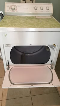 white front-load clothes dryer Washington, 20024