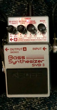 Guitar and Bass Pedals