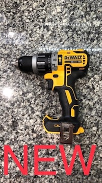 New Dewalt Brushless 20V MAX XR Compact Hammer Drill/Driver Tool Only