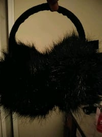Black furry ear muffs Temple Hills, 20748