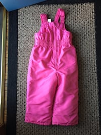 Clean Faded Glory 4T snow bibs with adjustable straps EUC Price firm  Lincoln, 68516