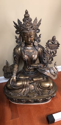 "Bronze 36"" tall Green Tara Statue Bloomsburg, 17815"