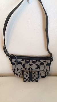 Authentic Coach Purse and Wallet Excellent Condition