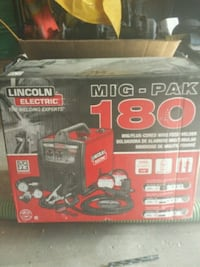 180 Lincoln mig welder brand new Spruce Grove, T7Y 1E4