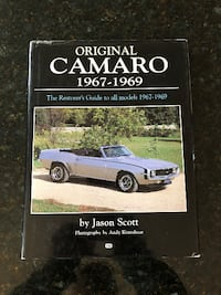 Original Camaro 1967-1969 North Potomac