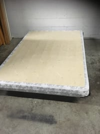 Frame and Boxspring
