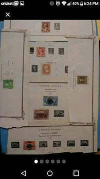 1800s USA POSTAGE STAMPS Fort Myers, 33901