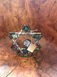 silver and green gemstone ring Hialeah, 33010