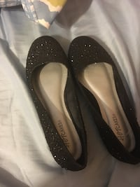 pair of black leather flats West Warwick, 02893