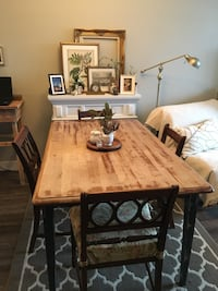 Country harvest wood table Calgary, T3K 3Y3
