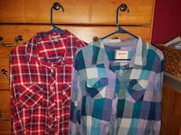 Xlarges, good condition askinf $10 for both Lonaconing, 21539