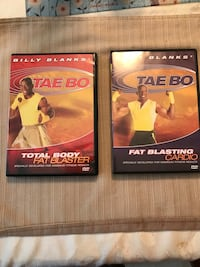 Billy Blanks workout DVD's Frederick, 21702