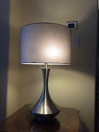 """2 lamps. Almost brand new. Lamp height 29"""". Shade diameter 17"""" Markham, L3T 6K6"""