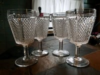 4 Goblet glasses Cohoes, 12047