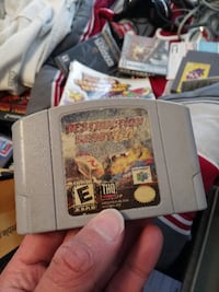 DESTRUCTION DERBY (NINTENDO 64) - $25 FIRM Edmonton