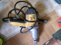 black and gray corded power tool Fitchburg, 01420