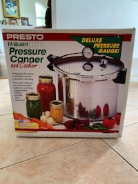 17qt Pressure Canner and Cooker