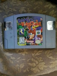 Nintendo 64 Super Mario 64 game cartridge Niagara Falls, L2J 1S4