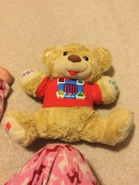 yellow and red bear plush toy Sherwood Park, T8H