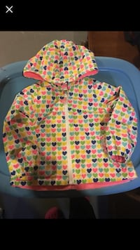 EUC Carters fleece-lined rain coat 24m / 2T Milton, L9T 6N7