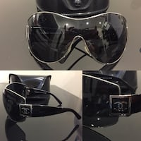 Chanel Shield Sunglasses (Authentic)
