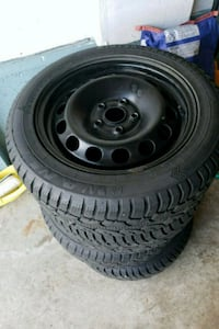 205/55R16 with rims Mississauga, L5M 6V9